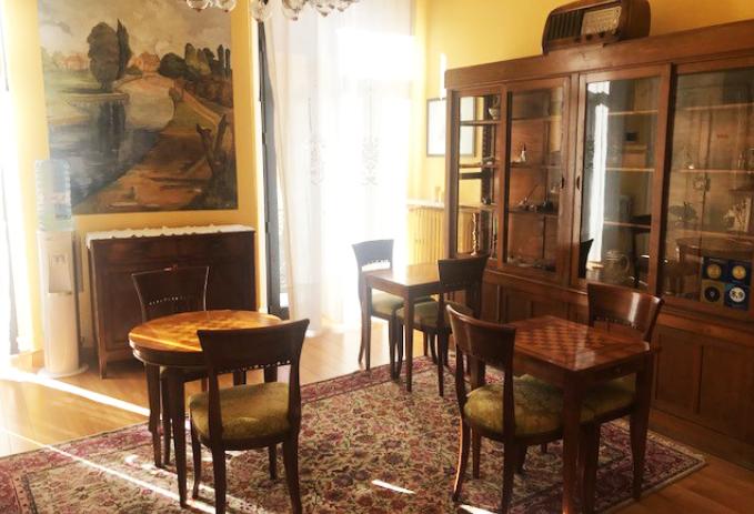 il salotto dell'interno del bed e breakfast di verona, casa esvael